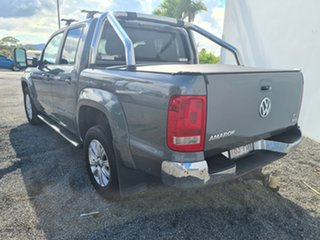 2013 Volkswagen Amarok 2H MY14 TDI420 4Motion Perm Highline Grey 8 Speed Automatic Utility.