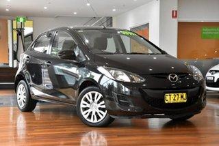 2010 Mazda 2 DE10Y1 Neo Black 5 Speed Manual Hatchback.