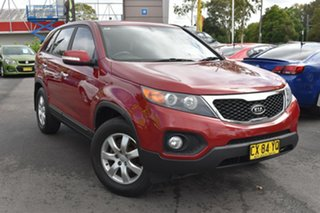 2012 Kia Sorento XM MY13 SI Red 6 Speed Sports Automatic Wagon.