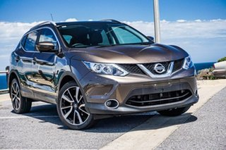 2017 Nissan Qashqai J11 TI Bronze 1 Speed Constant Variable Wagon.