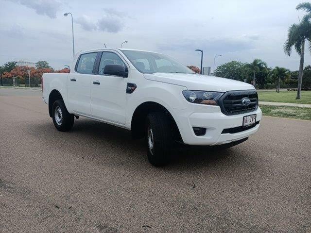 Used Ford Ranger PX MkIII 2020.25MY XL Townsville, 2020 Ford Ranger PX MkIII 2020.25MY XL Arctic White 6 Speed Sports Automatic Double Cab Pick Up