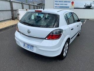 2008 Holden Astra AH MY09 CD White 4 Speed Automatic Hatchback