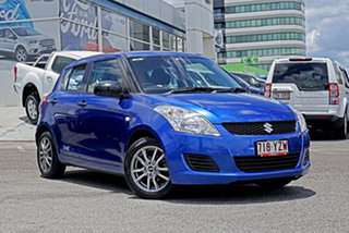 2012 Suzuki Swift FZ GA Blue 5 Speed Manual Hatchback.