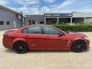 2016 Holden Commodore VF II MY16 SS Red 6 Speed Manual Sedan.