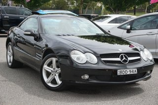 2003 Mercedes-Benz SL-Class R230 SL500 Black 5 Speed Sports Automatic Roadster