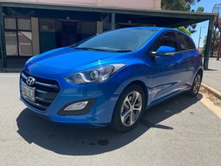 2015 Hyundai i30 GD3 Series II MY16 Active X Marina Blue 6 Speed Sports Automatic Hatchback