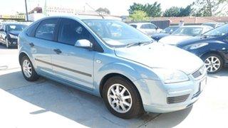 2007 Ford Focus LS CL Blue 5 Speed Manual Hatchback.