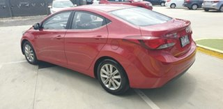 2015 Hyundai Elantra MD3 SE Red 6 Speed Sports Automatic Sedan