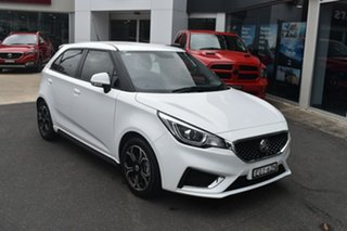 2019 MG MG3 SZP1 MY18 Excite White 4 Speed Automatic Hatchback.