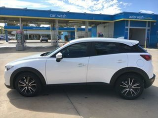 2016 Mazda CX-3 DK2W7A sTouring SKYACTIV-Drive Snowflake White Pearl 6 Speed Sports Automatic Wagon