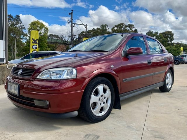 Used Holden Astra Goulburn, 2000 Holden Astra Olympic - CD Red Automatic Hatchback