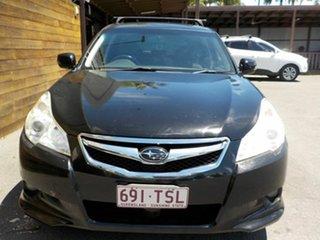 2012 Subaru Liberty B5 MY12 2.5i Lineartronic AWD Black 6 Speed Constant Variable Wagon