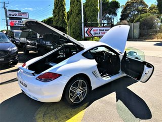 2010 Porsche Cayman 987 MY11 PDK White 7 Speed Sports Automatic Dual Clutch Coupe