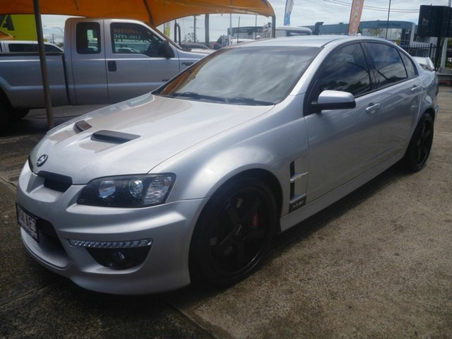 Used Holden Special Vehicles ClubSport E Series 2 R8 20th Anniversary Morayfield, 2010 Holden Special Vehicles ClubSport E Series 2 R8 20th Anniversary Silver 6 Speed Automatic Sedan
