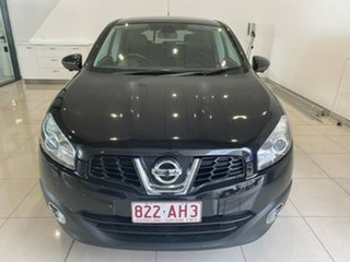 2012 Nissan Dualis J10W Series 3 MY12 Ti-L Hatch 2WD Black 6 Speed Manual Hatchback.