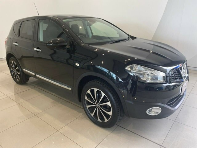 Used Nissan Dualis J10W Series 3 MY12 Ti-L Hatch 2WD Aspley, 2012 Nissan Dualis J10W Series 3 MY12 Ti-L Hatch 2WD Black 6 Speed Manual Hatchback