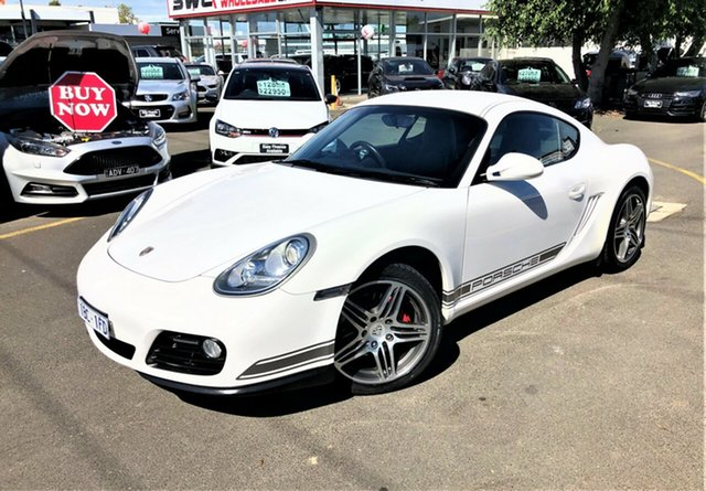 Used Porsche Cayman 987 MY11 PDK Seaford, 2010 Porsche Cayman 987 MY11 PDK White 7 Speed Sports Automatic Dual Clutch Coupe