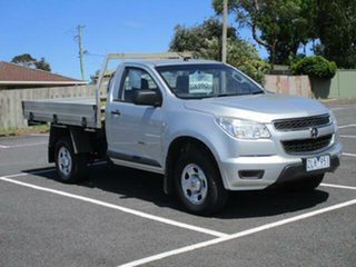 2012 Holden Colorado RG DX Nitrate Manual SINGLE CABCHASS.
