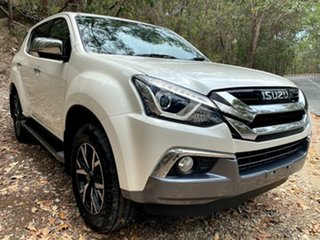 2019 Isuzu MU-X MY19 LS-U Rev-Tronic 4x2 Silky White 6 Speed Sports Automatic Wagon.