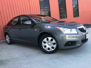 2012 Holden Cruze JH Series II MY13 CD Grey 5 Speed Manual Sedan.