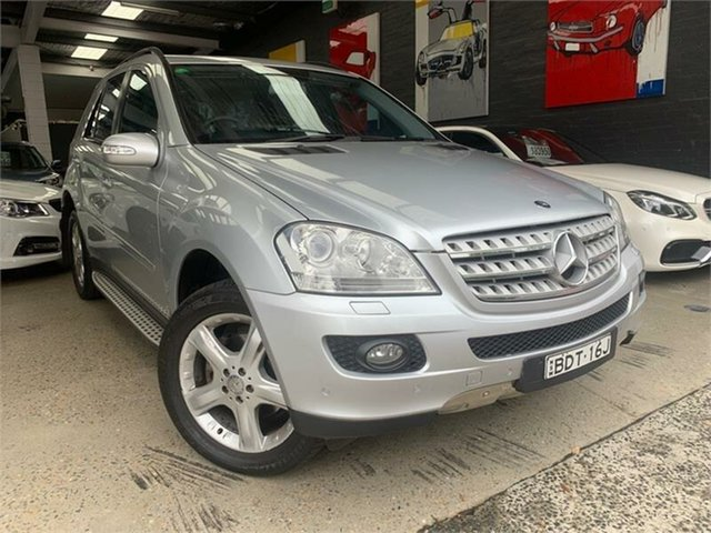 Used Mercedes-Benz M-Class W164 ML350 Luxury Glebe, 2007 Mercedes-Benz M-Class W164 ML350 Luxury Silver Sports Automatic Wagon