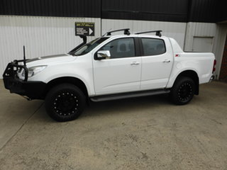 2015 Holden Colorado RG MY16 Z71 Crew Cab Antarctic White 6 Speed Manual Utility.