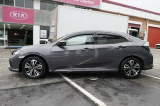 2018 Honda Civic 10th Gen MY18 VTi-LX Grey 1 Speed Constant Variable Hatchback