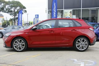 2020 Hyundai i30 PD.V4 MY21 N Line Fiery Red 6 Speed Manual Hatchback
