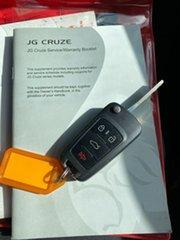 2011 Holden Cruze JG CD Black 5 Speed Manual Sedan