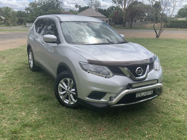 Used Nissan X-Trail T32 ST X-tronic 4WD Moree, 2014 Nissan X-Trail T32 ST X-tronic 4WD Silver 7 Speed Constant Variable Wagon