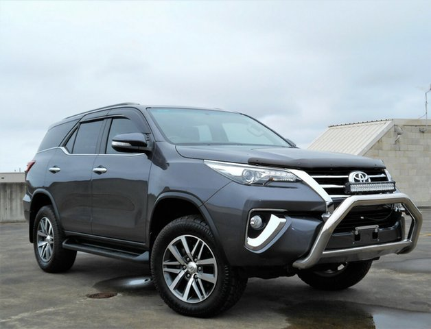 Used Toyota Fortuner GUN156R Crusade Brookvale, 2015 Toyota Fortuner GUN156R Crusade Grey 6 Speed Automatic Wagon