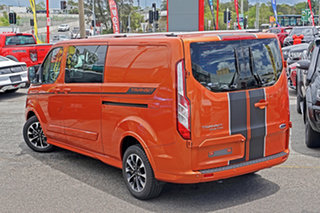 2019 Ford Transit Custom VN 2019.75MY 320L (Low Roof) Sport Orange 6 Speed Automatic Double Cab Van.