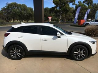2016 Mazda CX-3 DK2W7A sTouring SKYACTIV-Drive Snowflake White Pearl 6 Speed Sports Automatic Wagon.