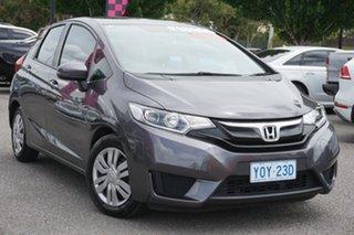 2016 Honda Jazz GF MY16 VTi Grey 5 Speed Manual Hatchback.
