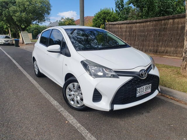 Pre-Owned Toyota Yaris NCP130R Ascent Hawthorn, 2014 Toyota Yaris NCP130R Ascent White 4 Speed Automatic Hatchback