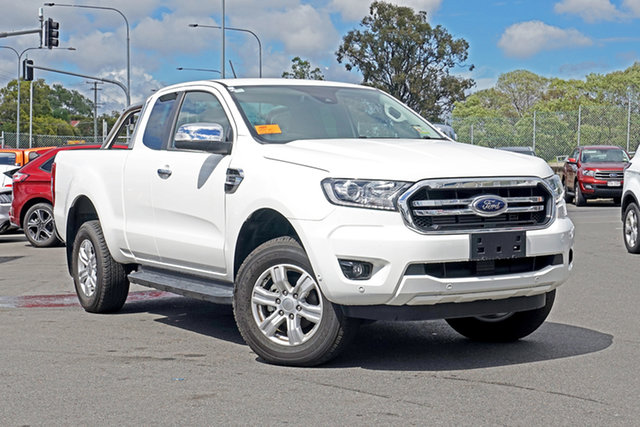 Used Ford Ranger PX MkIII 2019.75MY XLT Ebbw Vale, 2019 Ford Ranger PX MkIII 2019.75MY XLT White 10 Speed Sports Automatic Double Cab Pick Up