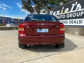 2000 Holden Astra Olympic - CD Red Automatic Hatchback.
