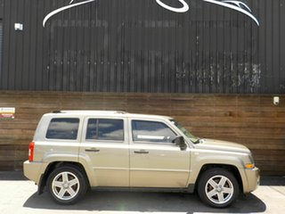 2008 Jeep Patriot MK MY2007 Limited CVT Auto Stick Khaki 6 Speed Constant Variable Wagon.