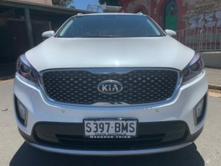 2016 Kia Sorento UM MY17 SLi AWD Snow White Pearl 6 Speed Sports Automatic Wagon