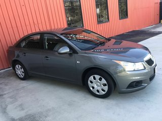 2012 Holden Cruze JH Series II MY13 CD Grey 5 Speed Manual Sedan