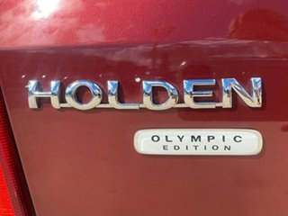 2000 Holden Astra Olympic - CD Red Automatic Hatchback