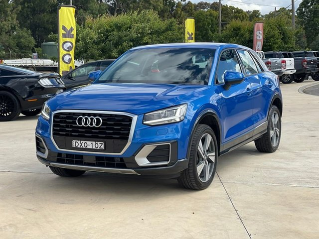 Used Audi Q2 Goulburn, 2018 Audi Q2 design Blue Sports Automatic Dual Clutch Wagon