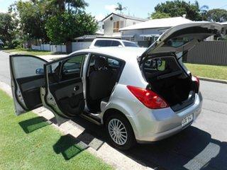2006 Nissan Tiida C11 ST Silver 5 Speed Automatic Hatchback