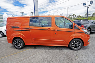 2019 Ford Transit Custom VN 2019.75MY 320L (Low Roof) Sport Orange 6 Speed Automatic Double Cab Van