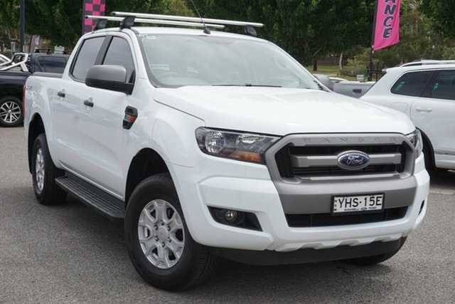 Used Ford Ranger PX MkII XLS Double Cab Phillip, 2017 Ford Ranger PX MkII XLS Double Cab White 6 Speed Sports Automatic Utility