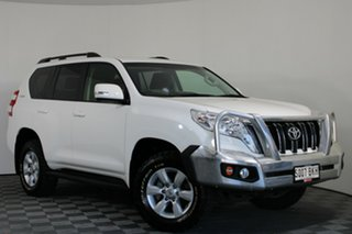 2015 Toyota Landcruiser Prado KDJ150R MY14 GXL White 6 Speed Manual Wagon.