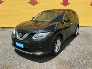 2016 Nissan X-Trail T32 ST X-tronic 2WD Black 7 Speed Constant Variable Wagon
