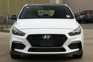 2021 Hyundai i30 PD.V4 MY21 N Line D-CT Premium Polar White 7 Speed Sports Automatic Dual Clutch
