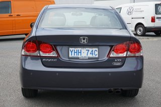 2010 Honda Civic 8th Gen MY10 VTi-L Sparkle Grey 5 Speed Manual Sedan