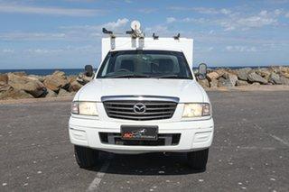 2003 Mazda Bravo B2500 DX 4x2 White 5 Speed Manual Cab Chassis